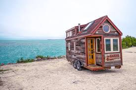 tiny house vacation couple quits day jobs builds quaint tiny home on wheels to