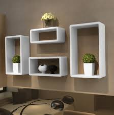 decorative wall mounted speaker shelf