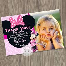 minnie mouse thank you cards minnie mouse thank you card minnie mouse birthday minnie mouse