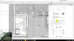 layout sketchup drawing floor plan part 02 youtube