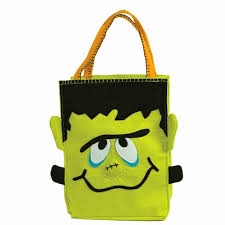 trick or treat bags groovy frankenstein trick or treat bag ecopartytime