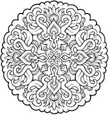 coloring mandala beautiful coloring coloring mandala 498 free