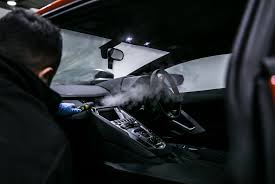 Interior Steam Clean Car Interior Detailing And Car Cleaning At Signature Fleet Care