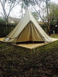 build the deck pitch the tent tent instead of rent
