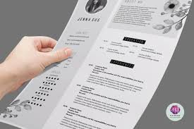 two page resume template resume templates on thehungryjpeg com