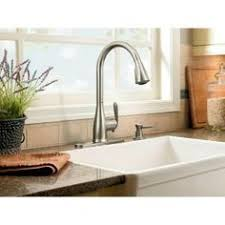 Moen Haysfield Kitchen Faucet Delta Lakeview Single Handle Pull Sprayer Kitchen Faucet With