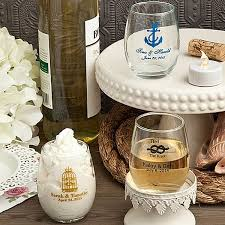 wedding favors personalized 5 oz custom printed glass wine tasting tumbler favors