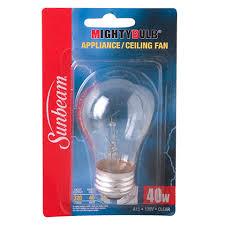 bulk sunbeam mighty bulb appliance ceiling fan bulbs at dollartree