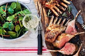 roast rack of lamb recipes delicious com au