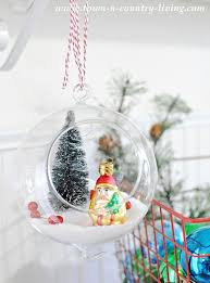 diy hanging snow globes town country living