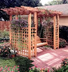 Swing Arbor Plans 89 Best Arbor Plans Images On Pinterest Garden Arbor Arbors