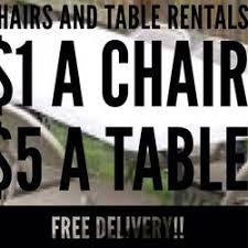 table rentals chicago chair and table rental service party equipment rentals chicago