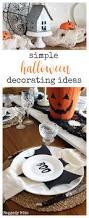 simple halloween decorating ideas raggedy bits