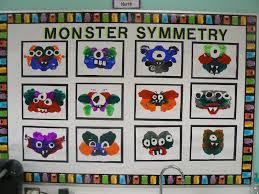 mrs t u0027s first grade class monster symmetry