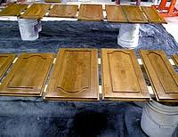 basics of refinishing kitchen cabinets