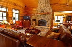log cabin living room decor astonishing ideas log cabin living rooms homely design log cabin