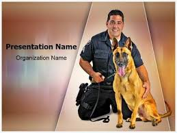 police k9 dog powerpoint template is one of the best powerpoint