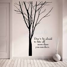 and quotes winter tree wall decal large
