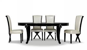 a u0026x bellagio luxurious black crocodile transitional dining table