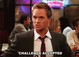 Challege Accepted Meme - challenge accepted gifs tenor