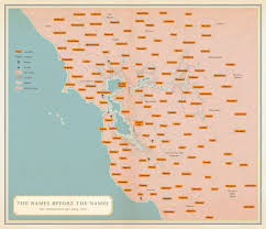 Map Of San Francisco Area by San Francisco Native American Tribes Map Business Insider