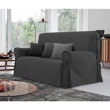 housse de canapé 2 places pas cher housse de canapé 2 places à nouettes en coton pas cher à prix auchan