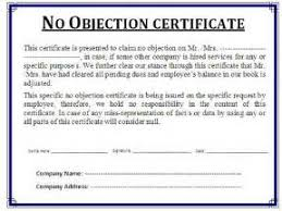 Balance Certification Letter Awesome No Objection Certificate Sample Letter Contemporary Best