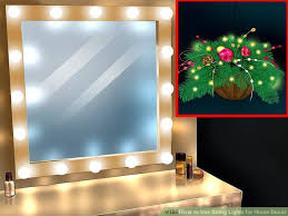 decor lights home decor 3 ways to use string lights for home decor wikihow