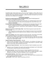 Youth Resume Template Best Youth Development Specialist Resume Template