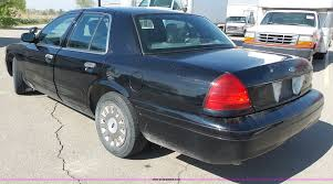 2003 ford crown victoria police interceptor item j4147 s