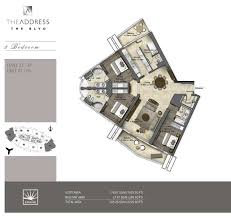 floor plans by address serviced apartment in the address the blvd