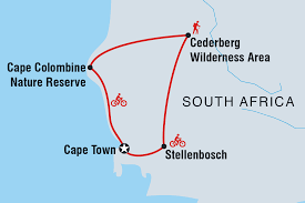 Map Of Cape Town South Africa by Active South Africa South Africa Tours Intrepid Travel Gb