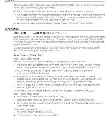 Retail Resume Templates Resume Example Retail Resume Example Retail Store Manager