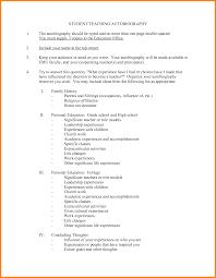resume for student teachers exles of autobiographies 9 student autobiography exle legal resumed
