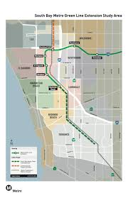 Los Angeles Train Map by Measure M Green Line Extension To Torrance The Source