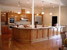oak kitchen cabinets wall color kitchen decoration