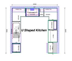 Floor Plan Ikea Kitchen Impressive U Shaped Kitchen Floor Plans Ikea Ushaped