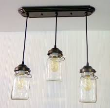 Canning Jar Lights Chandelier Mason Jar Chandelier Light Rectangular With Vintage Quarts The