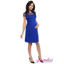 maternity formal dress purpless maternity short sleeved a line