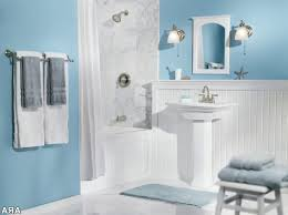blue bathrooms decor ideas blue and brown bathroom decor faucet the large rectangle