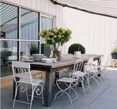 Shabby Chic Patio Furniture by Outdoor Living Cool Small Patio Design With Beautiful Green