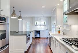 this modern kitchen designed by kitchen design concepts features
