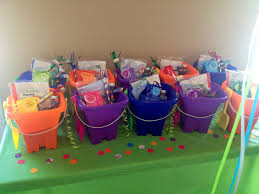 bubble guppies party favor buckets bubble guppies party