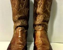 womens cowboy boots size 9 1 2 miss capezio boots with butterfly inlays size 7