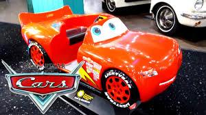 lighting mcqueen pedal car disney pixar cars lightning mcqueen ride on kids fast fun car