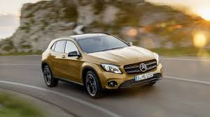mercedes gla compact suv 2018 mercedes gla and amg gla45 photos and information from