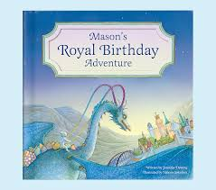 my royal birthday adventure personalized book pottery