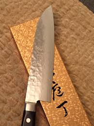 ichiro hattori kd santoku damascus pattern attention to detail