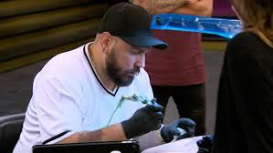 exclusive eye of the tiger eliminated artist ink