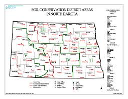 Nd Map Map Of Soil Conservation Districts U2014 North Dakota State Soil